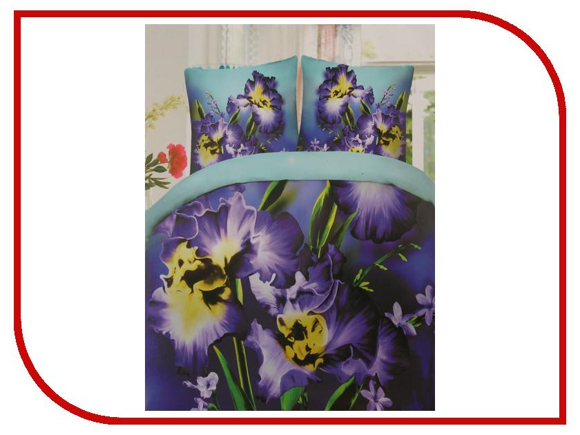 Постельное белье Экзотика 388 Комплект 2 спальный Сатин постельное белье рагнеда сатин 2 спальный
