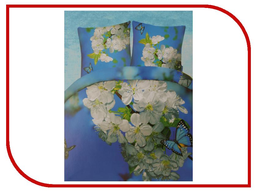 Постельное белье Экзотика 385 Комплект 2 спальный Сатин постельное белье рагнеда сатин 2 спальный