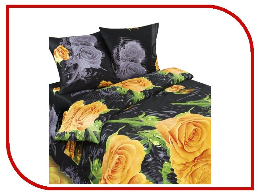 Постельное белье Экзотика 285 Комплект 1.5 спальный Сатин