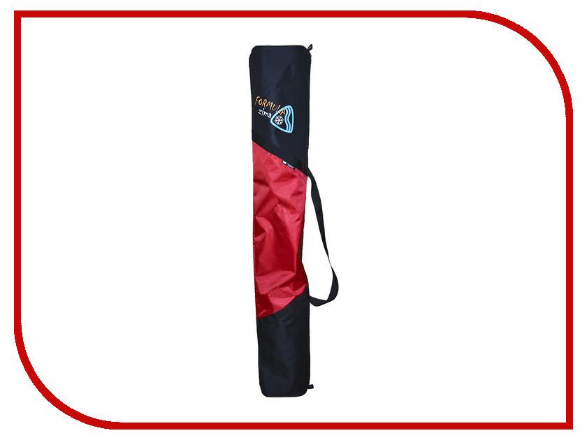 Аксессуар Чехол для горных лыж Формула зима Norma 150 Black-Red 51001 black sexy deep v neck tie up backless crochet lace swimwear
