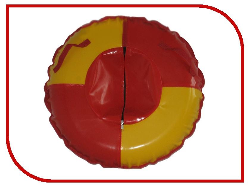 Тюбинг Формула зима Комета 80 Red-Yellow 55019
