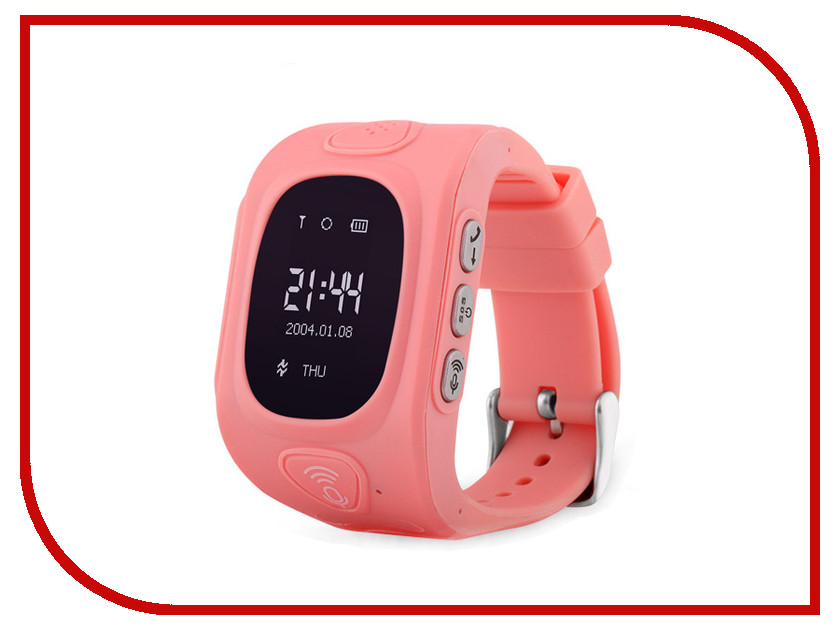 Wokka Watch GW300 Pink wokka watch q360 black