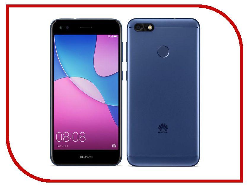 Сотовый телефон Huawei Nova Lite 2017 Blue телефон huawei nova розовое золото