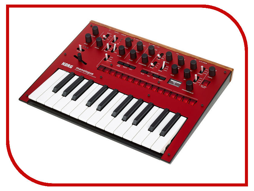 Синтезатор KORG Monologue Red