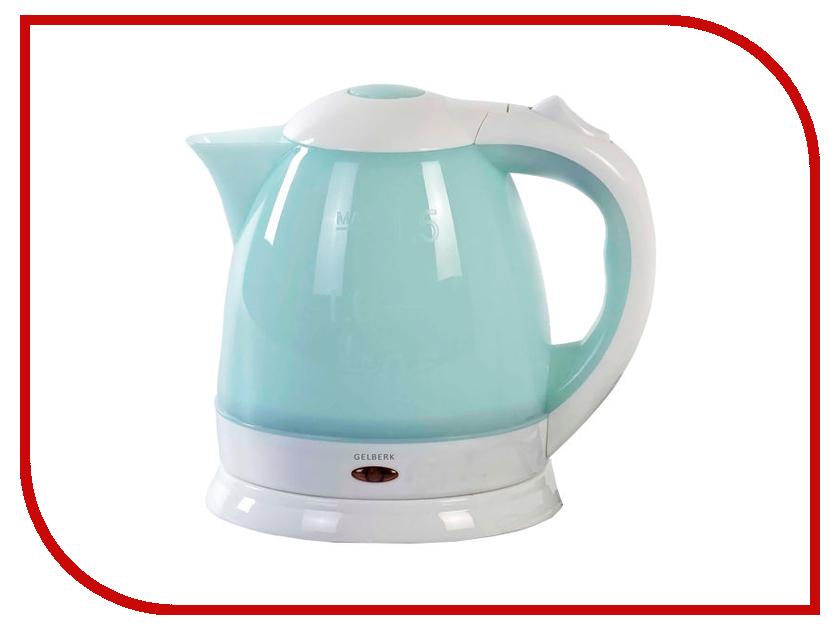 Чайник Gelberk GL-401 Light Blue весы gelberk gl 250