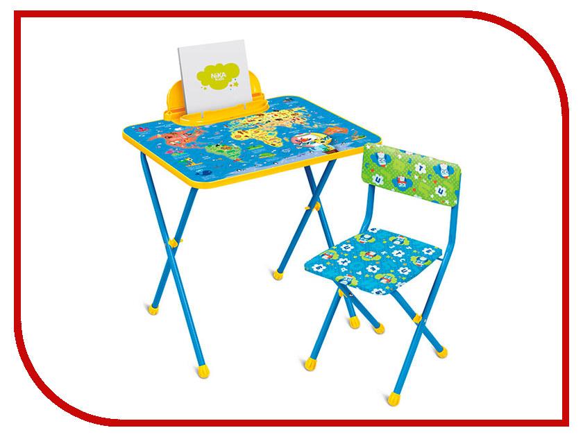 Игра Nika Познайка Познаю мир КП2/10 набор детской мебели ника познайка кп2