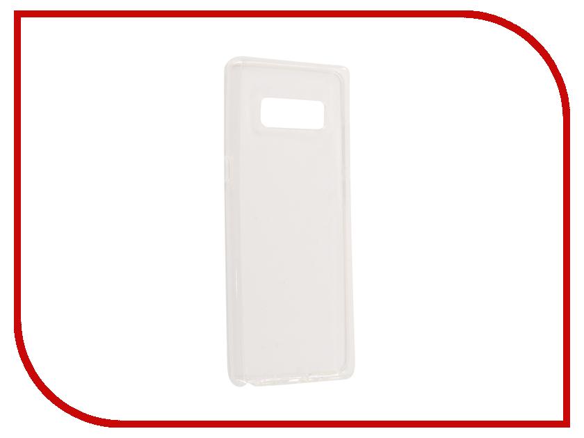 Аксессуар Чехол Samsung Galaxy Note 8 N950F Svekla Silicone Transparent SV-SGN950F-WH аксессуар чехол bq bqs 5070 magic svekla transparent sv bqs5070 wh