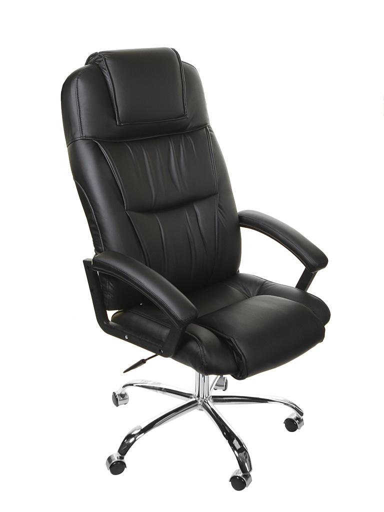 Компьютерное кресло TetChair Bergamo хром Black 9517