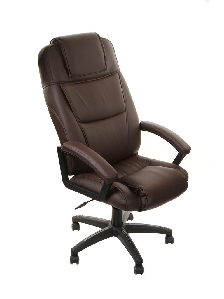 Компьютерное кресло TetChair Bergamo искусственная кожа Brown 3054
