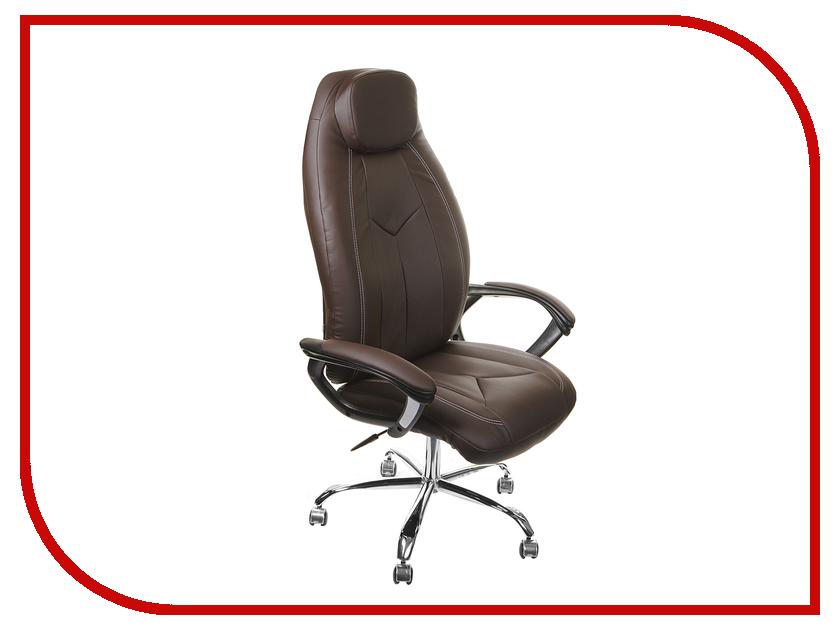 Компьютерное кресло TetChair Boss хром Brown 36-36/36-36/06