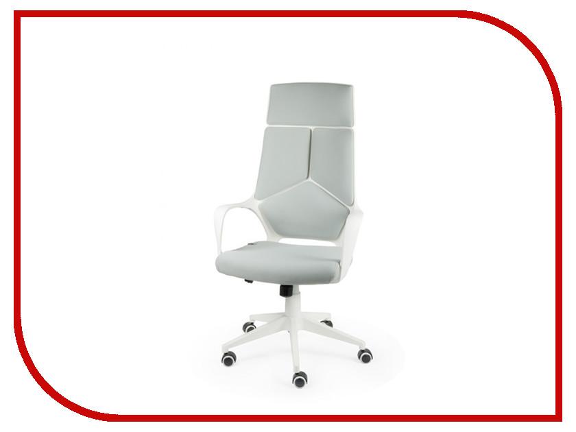 компьютерное кресло метта samurai s 1 02 grey Компьютерное кресло Norden Iq CX0898H White-Grey