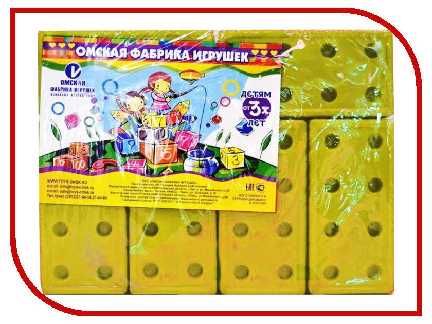 Конструктор Омская фабрика игрушек Кирпичи Yellow 12 дет. 0693