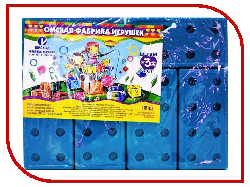 Конструктор Омская фабрика игрушек Кирпичи Blue 12 дет. 0695