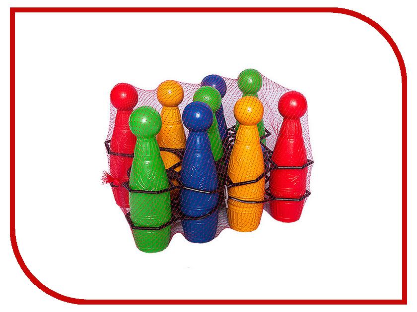 Игрушка Омская фабрика игрушек Кегли Расписные 0693