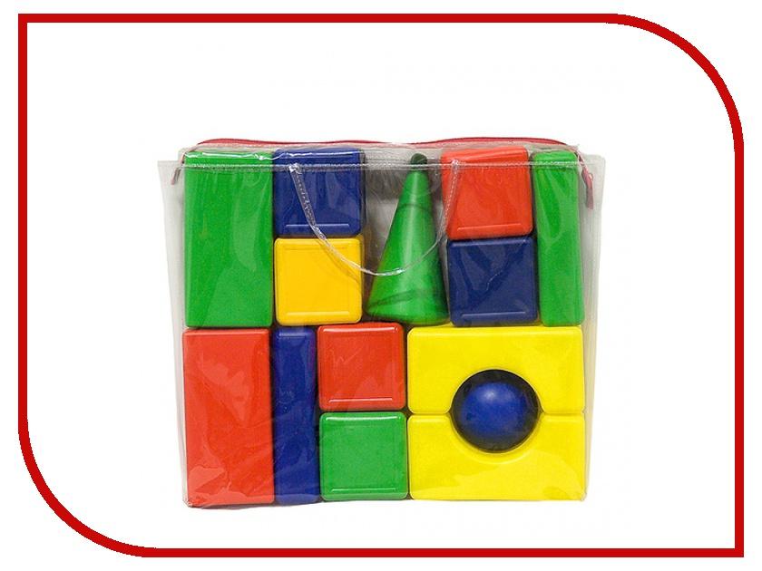 Конструктор Омская фабрика игрушек Городок 14 дет. 0010 фабрика игрушек