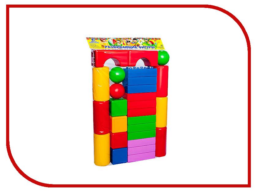 Конструктор Омская фабрика игрушек Городок Крепость 60 дет. 0610 фабрика игрушек