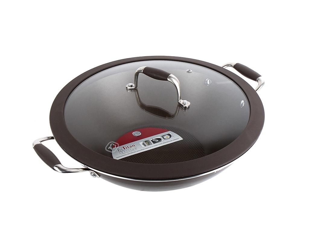 Сковорода Rondell Mocco 32cm RDA-552 stewpot with cover rondell lumiere rda 596 diameter 26 cm non stick coating