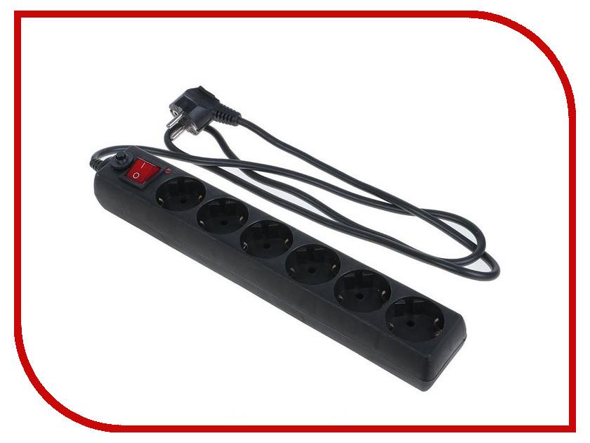Сетевой фильтр TDM-Electric СФ-06В 6 Sockets 3m SQ1304-0012 сетевой фильтр daesung mc2533 3 sockets 3m