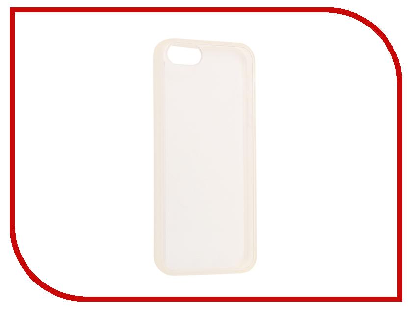 Аксессуар Чехол Ainy для iPhone 5 / 5S Transparent QA-A016 чехол универсальный ainy
