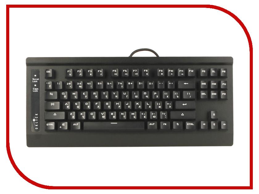 Клавиатура Oklick 910G V2 IRON EDGE мышь oklick 805g v2