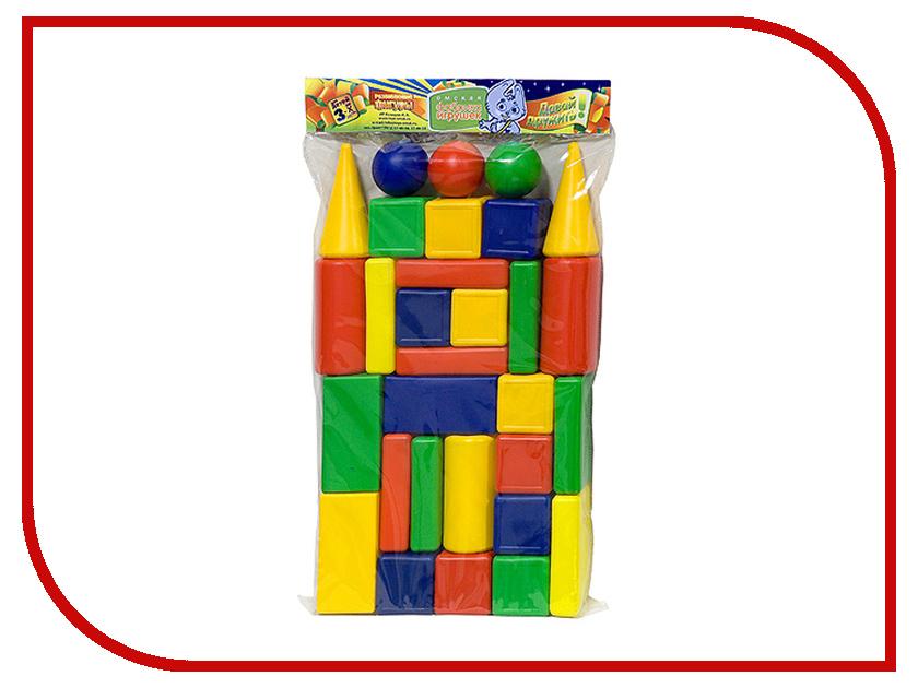 Конструктор Омская фабрика игрушек Городок Кубики Макси 30 дет. 0050 конструктор омская фабрика игрушек чемодан строитель 95 дет 0560