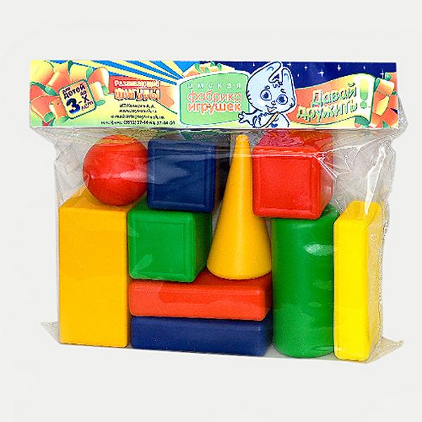 Кубики Омская фабрика игрушек Городок 10 дет. 0070