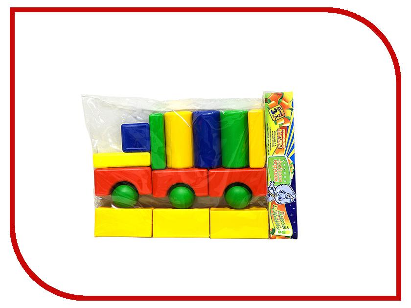 Конструктор Омская фабрика игрушек Городок Трейлер 16 дет. 0110