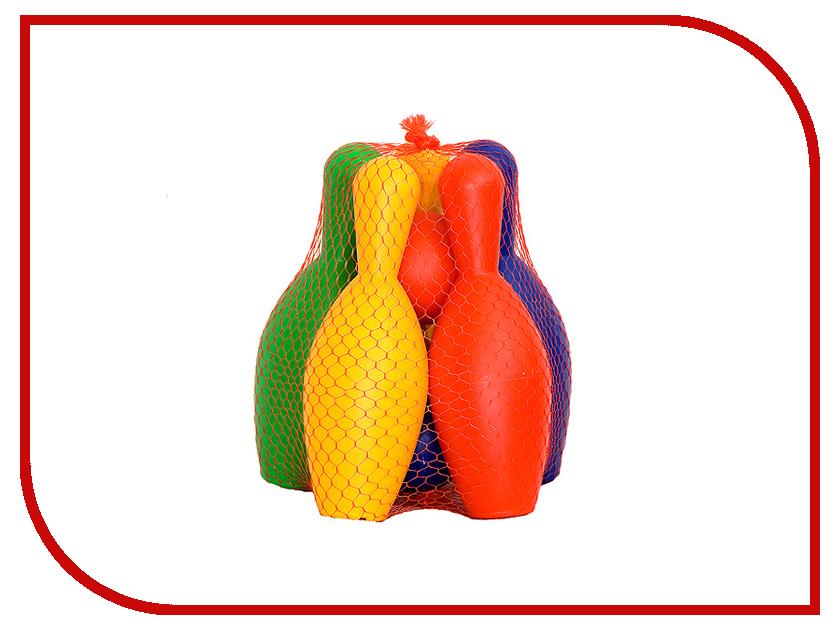 Игрушка Омская фабрика игрушек Кегли с мячами 0270