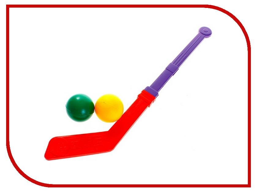 Игрушка Омская фабрика игрушек Клюшка с двумя мячами 0145