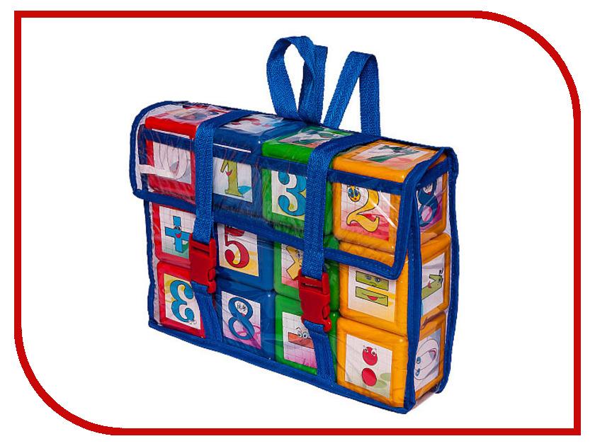 Игра Омская фабрика игрушек Кубики Математика Портфель 0530