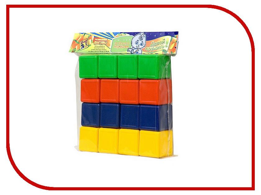 Игра Омская фабрика игрушек Кубики цветные 0330