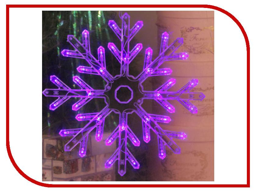 Украшение Luazon Снежинка Blue 2314974 волшебная снежинка