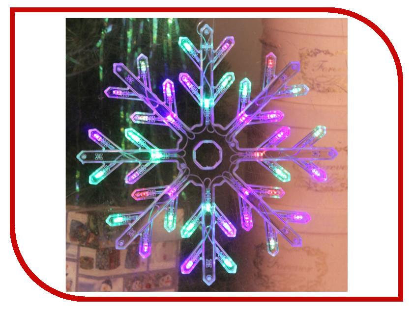 Украшение Luazon Снежинка 2314972 гирлянда luazon дождь 2m 6m multicolor 671678