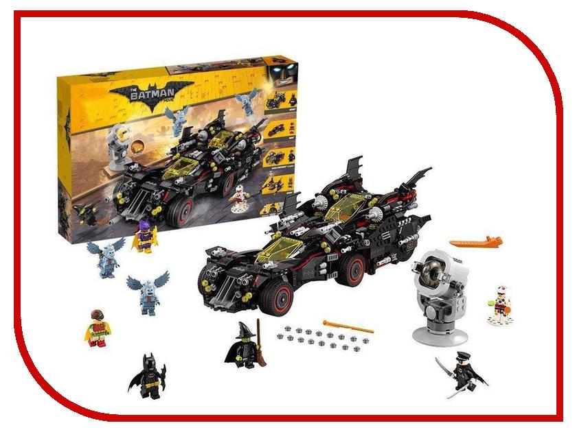 Конструктор Lepin Batman Крутой Бэтмобиль 1496 дет. 07077 конструктор lepin batman космический шаттл бэтмена 720 дет 07098