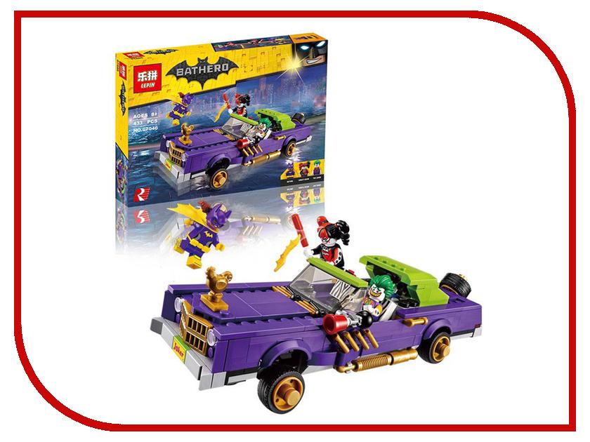 Конструктор Lepin Batman Лоурайдер Джокера 433 дет. 07046 конструктор lepin girls club сцена андреа в парке 256 дет 01058