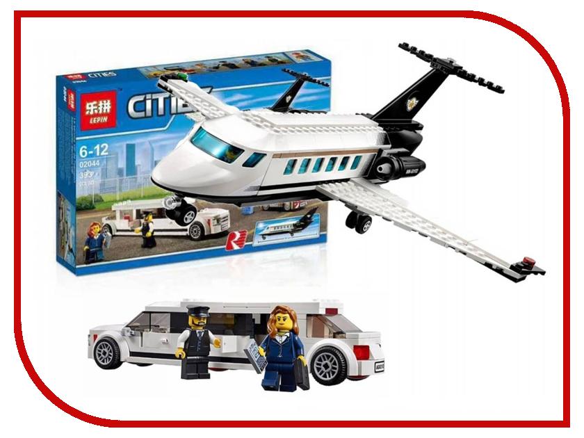 Конструктор Lepin Cities Служба аэропорта для важных клиентов 393 дет. 02044 конструктор lepin cities рыболовный катер 159 дет 02028