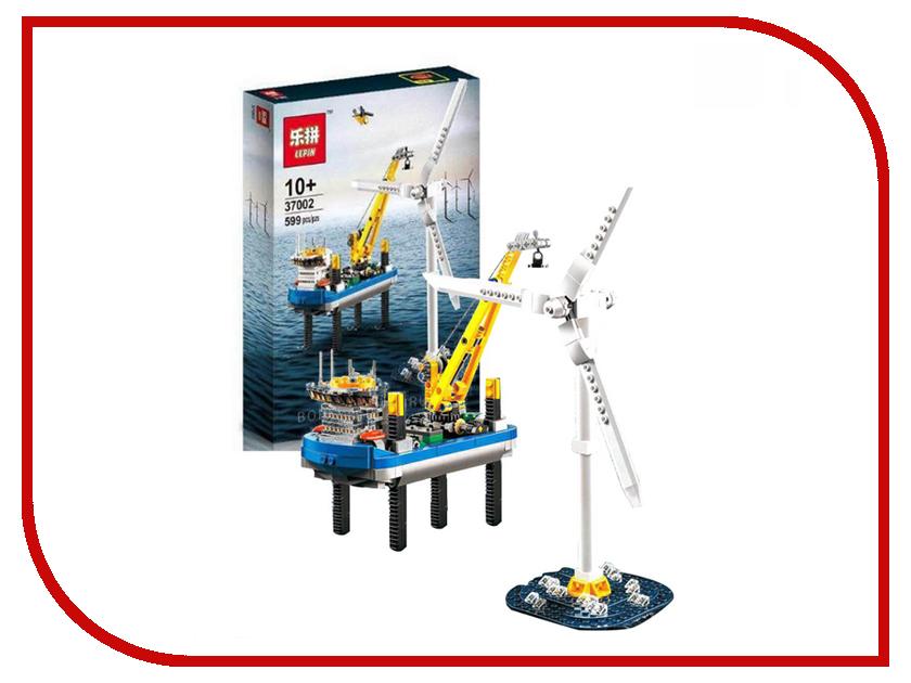 Конструктор Lepin Creators Ветряная электростанция Borkum Riffgrund 1 599 дет. 37002 бензиновая электростанция