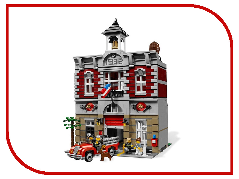 Конструктор Lepin Creators Пожарная Станция 2313 дет. 15004 hti большая пожарная станция teamsterz