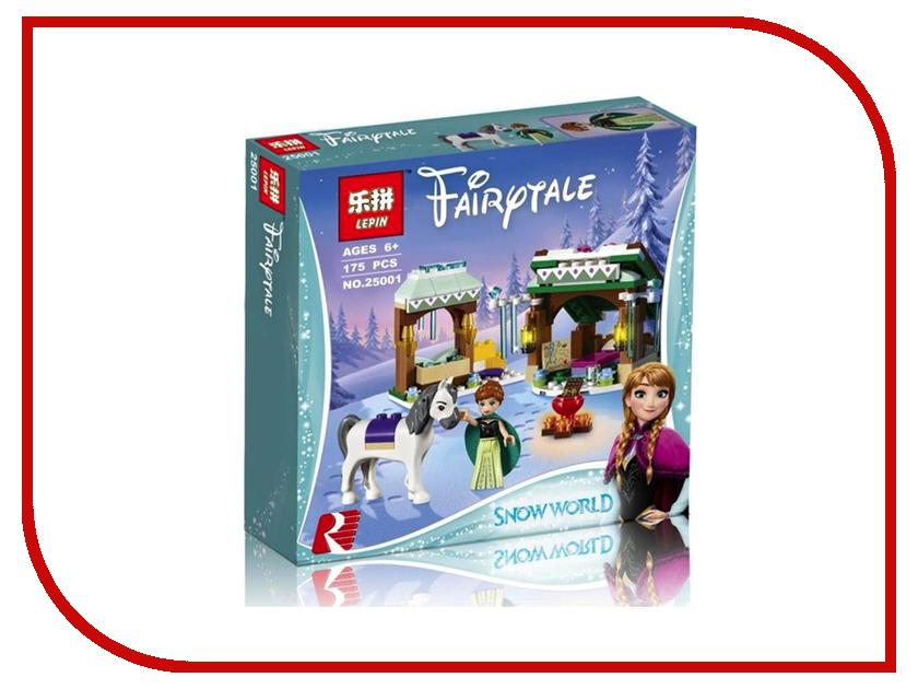 Конструктор Lepin Disney Princess Зимние приключения Анны 175 дет. 25001 конструктор lego disney princess 41147 зимние приключения анны