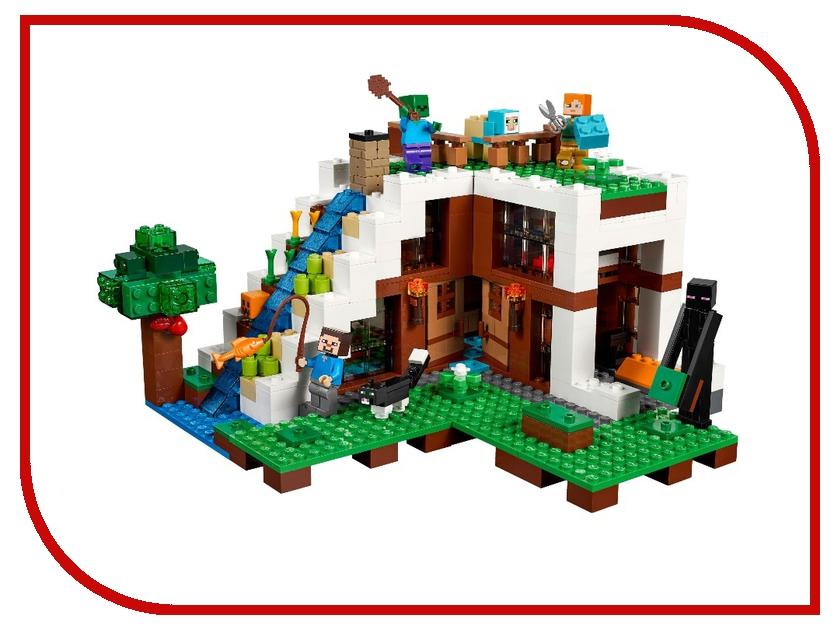 Конструктор Lepin Cubeworld База на водопаде 568 дет. 18028 конструктор lepin fairytale сказочный замок спящей красавицы 360 дет 25012