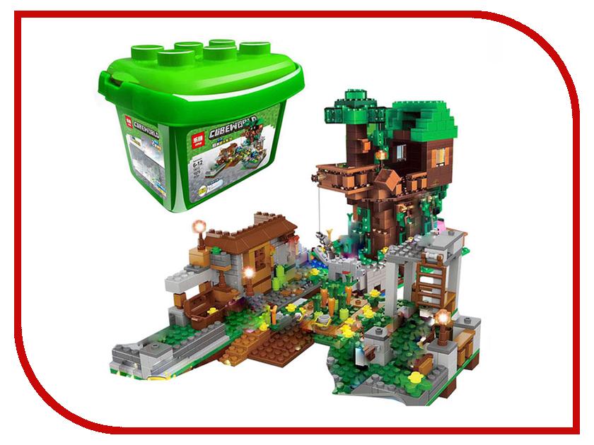 Конструктор Lepin Cubeworld Площадь с домом на дереве 1075 дет. 18031