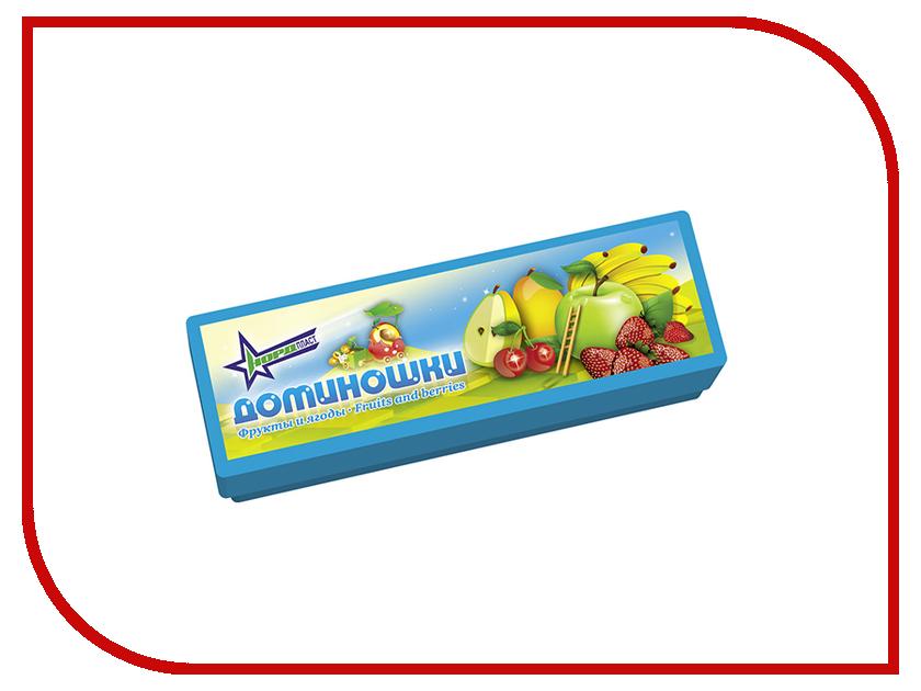Настольная игра Нордпласт Доминошки Фрукты и ягоды 827H