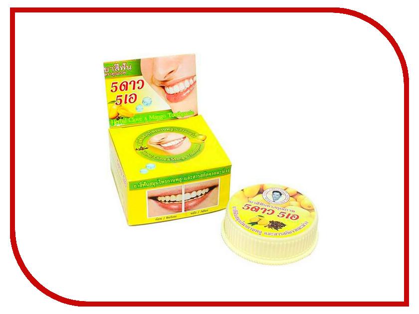 Зубная паста 5 Star Cosmetic Травяная с экстрактом Манго 25гр