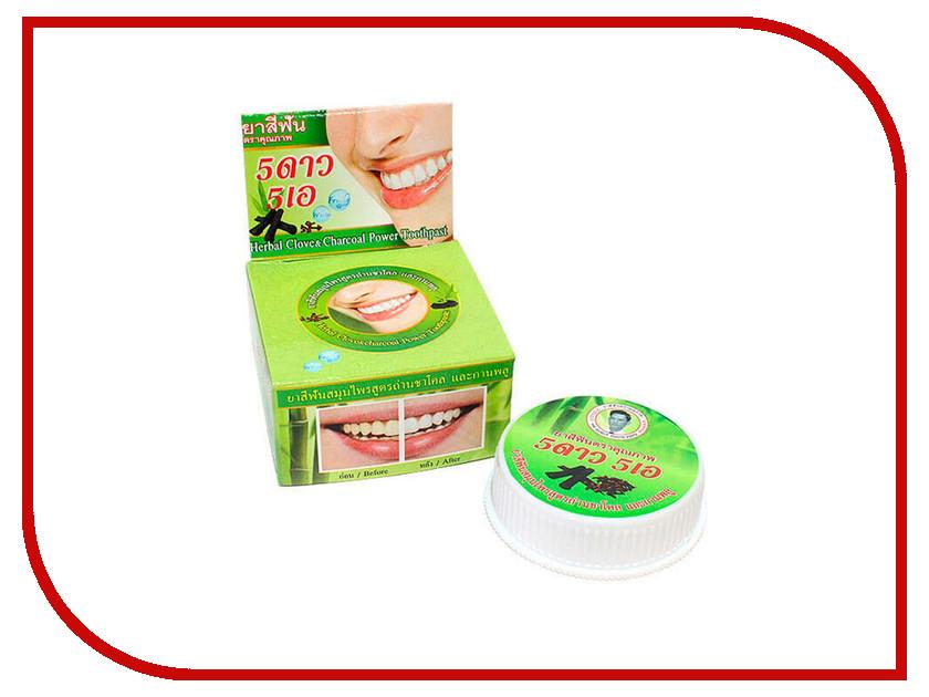 Зубная паста 5 Star Cosmetic Травяная с экстрактом угля Бамбука 25гр cosmetic bags