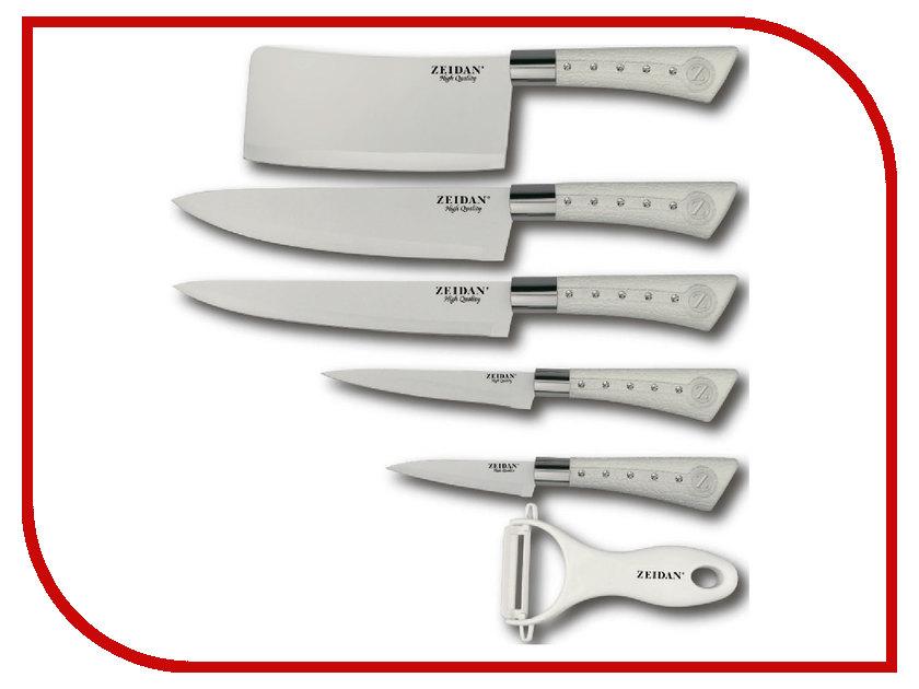 Набор ножей Zeidan Z-3091 White цена и фото