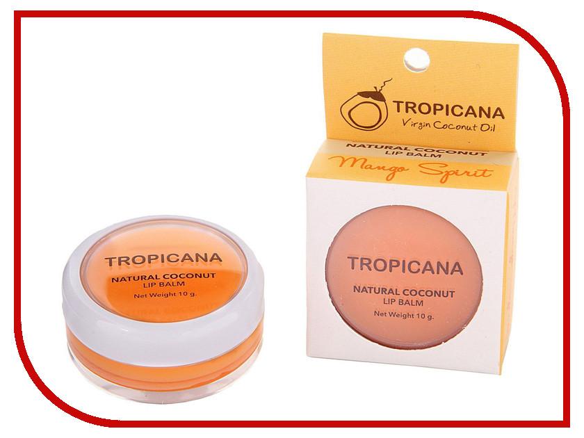 Средство для ухода за лицом Tropicana OIL Бальзам для губ аромат манго