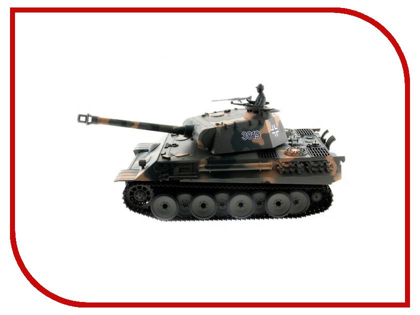 Игрушка Heng Long Panther HL3819-1 танк радиоуправляемый heng long german panther