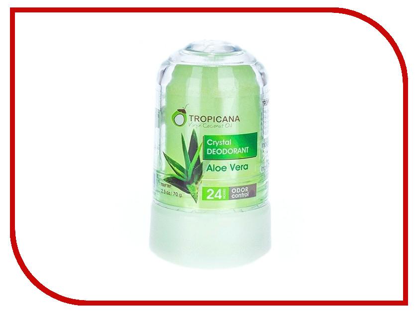 Дезодорант Tropicana OIL кристалл 70гр Aloe Vera