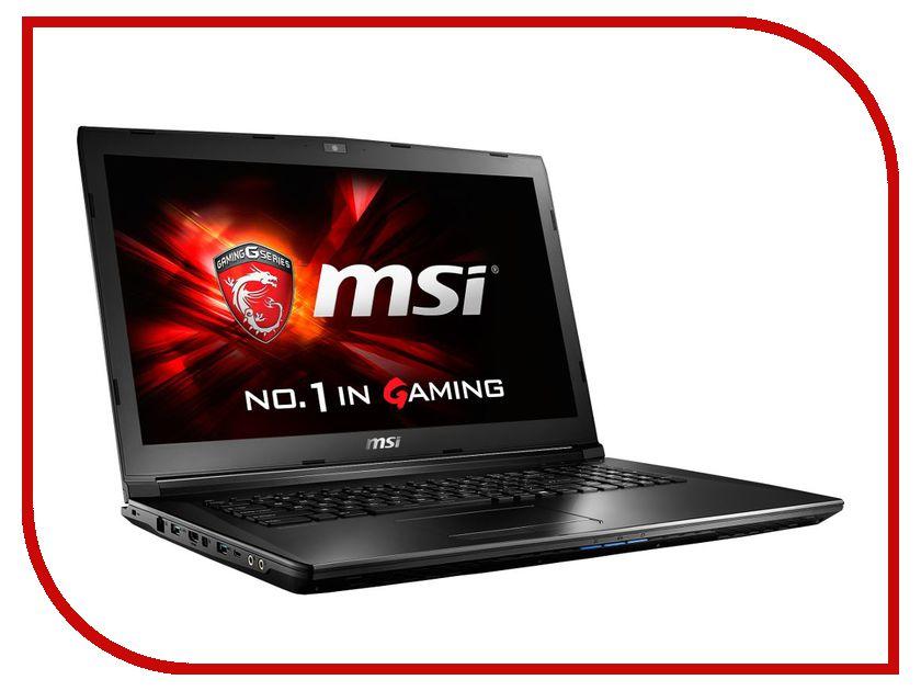 Ноутбук MSI GL72 7QF-895RU 9S7-179586-895 (Intel Core i7-7700HQ 2.8 GHz/16384Mb/1000Gb/DVD-RW/nVidia GeForce GTX 960M 2048Mb/Wi-Fi/Bluetooth/Cam/17.3/1920x1080/Windows 10 64-bit) ноутбук msi gp72 7rdx 484ru 9s7 1799b3 484 intel core i7 7700hq 2 8 ghz 8192mb 1000gb dvd rw nvidia geforce gtx 1050 2048mb wi fi bluetooth cam 17 3 1920x1080 windows 10 64 bit