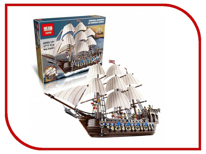 Конструктор Lepin Creator Корабль Имперский флагман 1717 дет. 22001